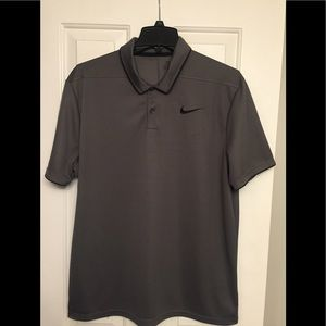 Nike Golf Dri-Fit Polo- LG